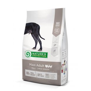 NATURE'S PROTECTION Сухой корм для собак Maxi Large breeds Adult Poultry 12 кг