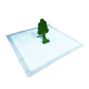 M-PETS Подушечки одноразовые для собак с 3D-деревом, 60х60 см, 15 шт.