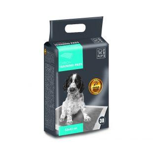 M-PETS Подушечки одноразовые для домашних животных, аромат лаванды 33x45 см, 30 шт.