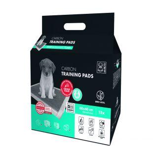 M-PETS Подушечки одноразовые для домашних животных, аромат лаванды 60х60 см, 15 шт.