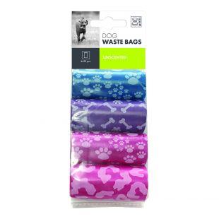 M-PETS Пакеты для сбора отходов для собак, 80 шт.