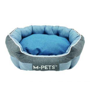 M-PETS Lemmiklooma voodi sinine, 60x50x23 cm