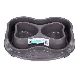 M-PETS Lemmikloomatoidu kauss, topelt, 2x500 ml