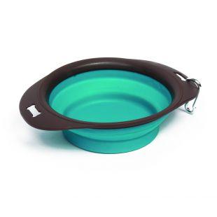 M-PETS Дорожная миска для домашних животных S, 420 мл