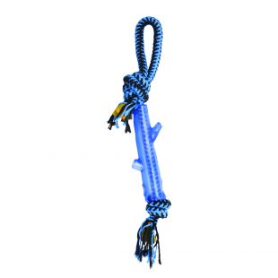 M-PETS Koera mänguasi, keerutatud köis, mitmevärviline