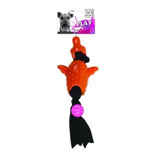 M-PETS Koera mänguasi, SIMONA, vibreeriv, oranž