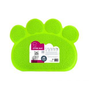 M-PETS Коврик для кошачьего туалета, PAWS, зеленый, 60x45 см