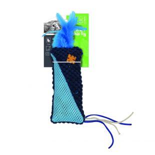 M-PETS Sulgedega kassi mänguasi HERBY, 15x7x1.5 cm