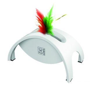 M-PETS Игрушка для кошек CRAZY BRIDGE, белый, 18,5x12x9 см