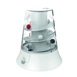 M-PETS Игрушка для кошек, VORTEX, интерактивная, белая, 22x19,7 см