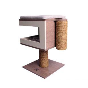 M-PETS Kassi kraapimispost, 62x40x40 cm