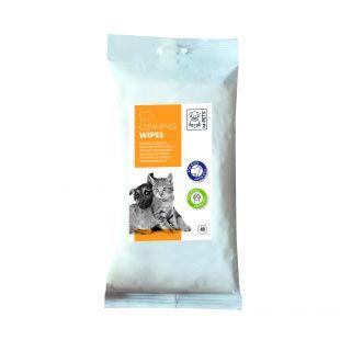 M-PETS Салфетки для ухода за домашними животными, 40 шт.