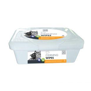 M-PETS Салфетки для ухода за домашними животными, 80 шт.