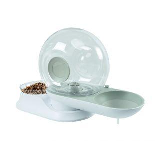 M-PETS Lemmiklooma toidu- ja veekauss, SNAIL COMBI, 41,6x15x23,3 cm