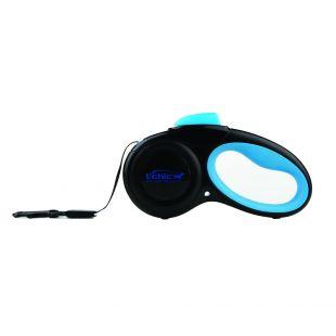 M-PETS Поводок автоматический, S, синий