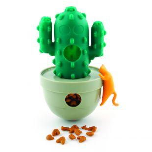 M-PETS Игрушка для кошек, КАКТУС, зеленая