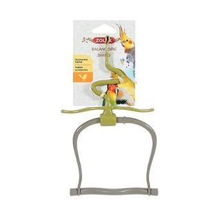 ZOLUX Качели с игрушками для птиц пластик