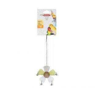 ZOLUX Игрушка для птиц подвесной, в форме цветка