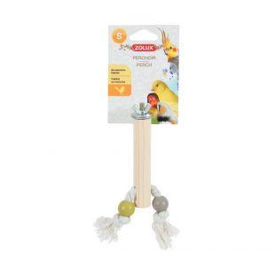 ZOLUX Rippuv mänguasi lindudele, suurus S, erinevad värvid