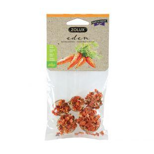 ZOLUX Eden сушеная нарезанная морковь для грызунов 30 г