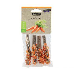 ZOLUX Eden сушеная нарезанная морковь для грызунов 20 г