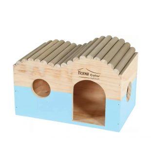 ZOLUX пластиковая коробка для транспортировки apvalus, L dydis, mėlynas