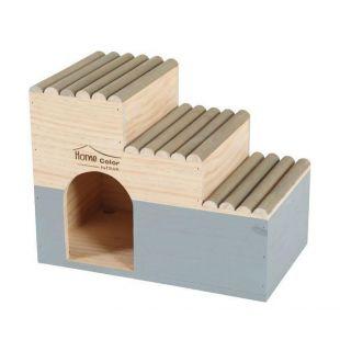 ZOLUX пластиковая коробка для транспортировки apvalus, L dydis, pilkas