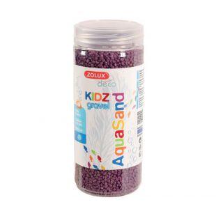 ZOLUX Декоративный гравий для аквариума 500 мл, фиолетовый