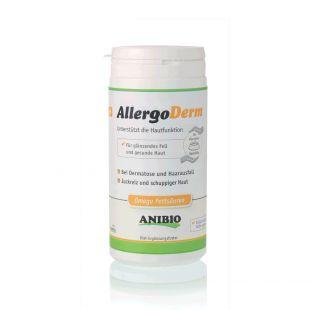 ANIBIO Allergoderm sõõdalisand koertele ja kassidele, probleemse nahahoolduse jaoks 210 g