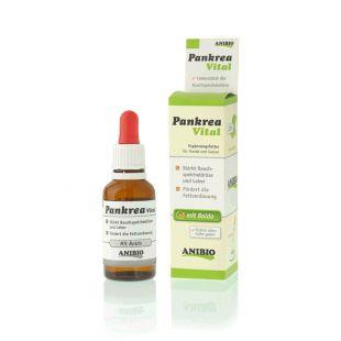 ANIBIO Pankrea кормовая добавка для кошек и собак, для поддержки функций поджелудочной железы и печени 30 мл