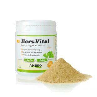 ANIBIO Herz-Vital sõõdalisand koertele ja kassidele, südametegevuse toetamiseks 330 g