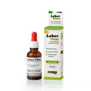 ANIBIO Leber-Vital sõõdalisand kassidele ja koertele maksafunktsiooni toetamiseks 30 ml