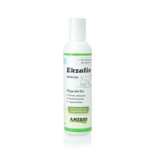 ANIBIO Ekzalin Hund средство для собак и кошек, гель для ухода за чувствительной, сухой кожей и шерстью, 200 мл