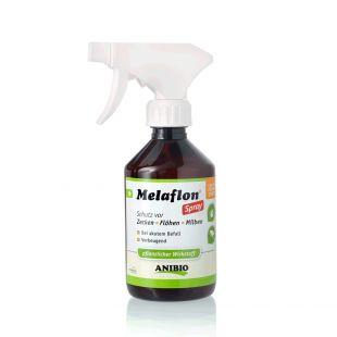 ANIBIO Melaflon Spray hooldusvahend kasside ja koerte jaoks - pihusti puukide ja kirpude vastu 100 ml