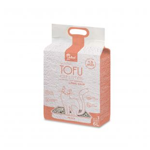 VELVET PAW наполнитель для кошачьего туалета для длинношерстных кошек, с экстрактом персика гранулы 1,5 мм