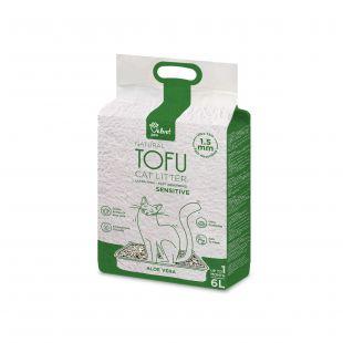 VELVET PAW наполнитель для кошачьего туалета для чувствительных кошек, с экстрактом алоэ гранулы 1,5 мм