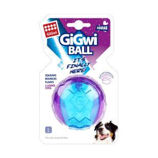 GIGWI Koera mõnguasi, pall, piiksuv, lilla, L