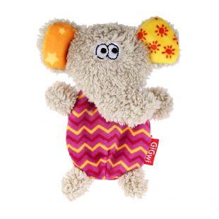 GIGWI Koera mänguasi - elevant piiksuv, roosa