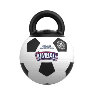 GIGWI Koera mänguasi - pall valge, jalgpall