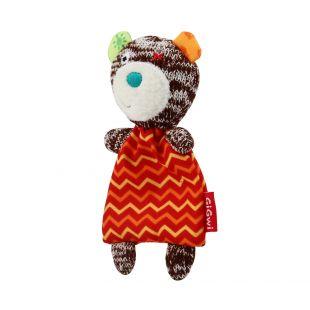 GIGWI Игрушка для кошек, Мишка Тедди с кошачьей мятой, разноцветная