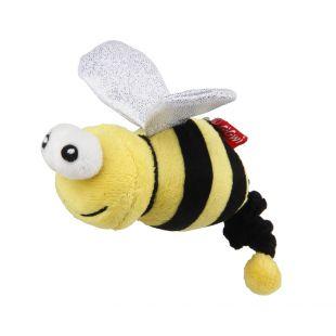 GIGWI Игрушка для кошек, Пчелка с колокольчиком и кошачьей мятой, разноцветная