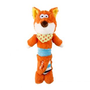 GIGWI Игрушка для собак, собачка, плюшевая, пищащая