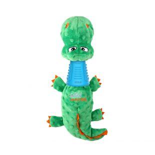 GIGWI mänguasi koertele, krokodill, automaatselt piiksuv sinine