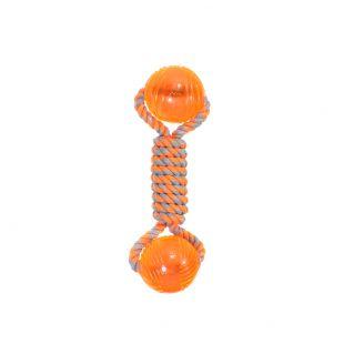 MISOKO&CO Игрушка для собак, кость, оранжевая, 24 см