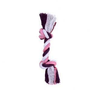 MISOKO&CO Игрушка для собак, короткая веревка, фиолетовая, 20 см