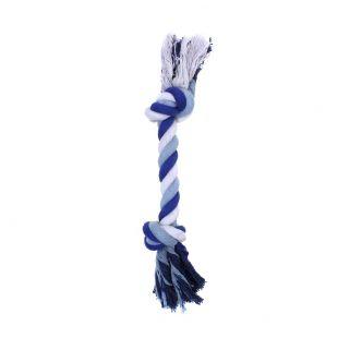 MISOKO&CO Игрушка для собак, веревка средняя, синяя, 30 см