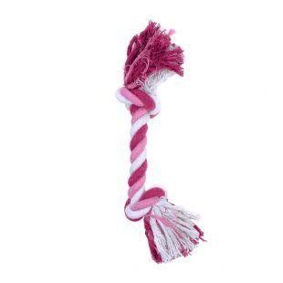 MISOKO&CO Игрушка для собак, длинная веревка, розовая, 35.5см