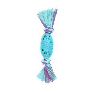 MISOKO&CO Mänguasi koertele, ragbipall, sinine, 24 cm