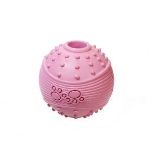 MISOKO&CO Mänguasi koertele, kummipall, roosa, 6.35 cm