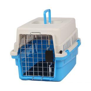 KANING Бокс для перевозки животных 50x34x32 см, светло-синий